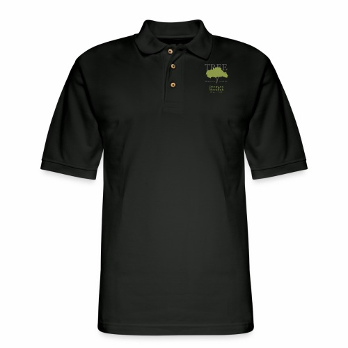 Tree Reading Swag - Men's Pique Polo Shirt