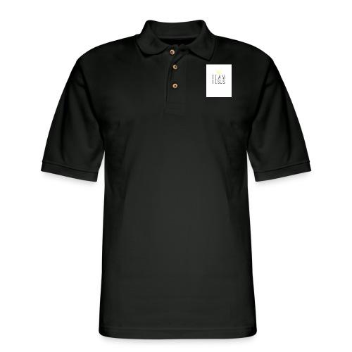 TEAM JESUS3 - Men's Pique Polo Shirt