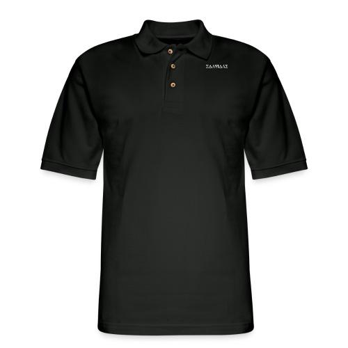 Slavidas Greek Shirt - Men's Pique Polo Shirt