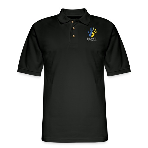 Down syndrome Awareness - Men's Pique Polo Shirt