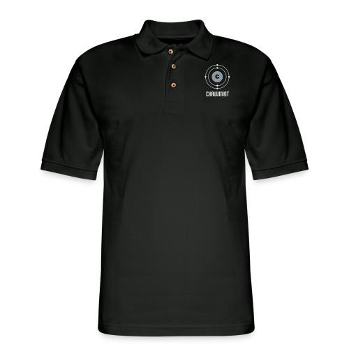 Carbon Chauvinist Electron - Men's Pique Polo Shirt