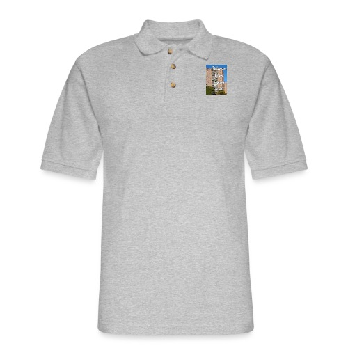 Paterson Born Towers Built - Men's Pique Polo Shirt