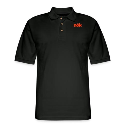nōk Red - Men's Pique Polo Shirt