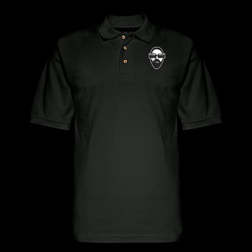 Spaceboy Music RetroVision - Men's Pique Polo Shirt