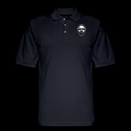 Spaceboy Music RetroVision - Men's Pique Polo Shirt