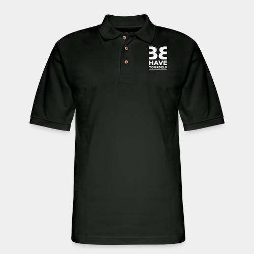 behave - Men's Pique Polo Shirt