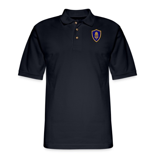 Ateneo HS Batch 87 Logo - Men's Pique Polo Shirt