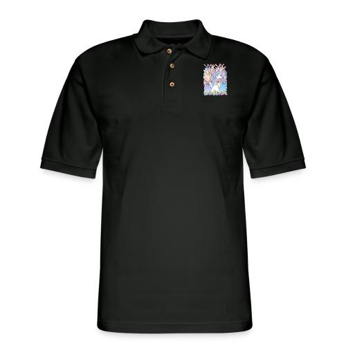 Happy Easter Bunnies - Men's Pique Polo Shirt