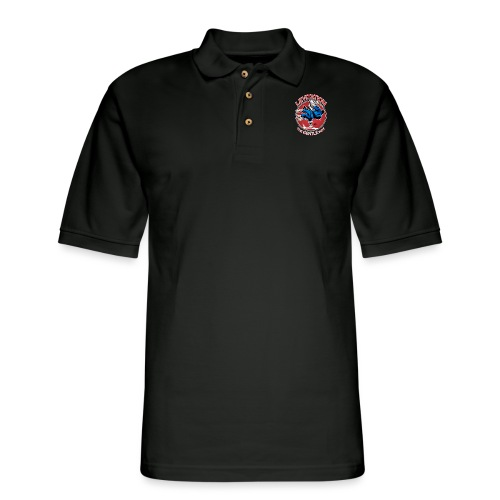Judo Levitation for dark shirt - Men's Pique Polo Shirt