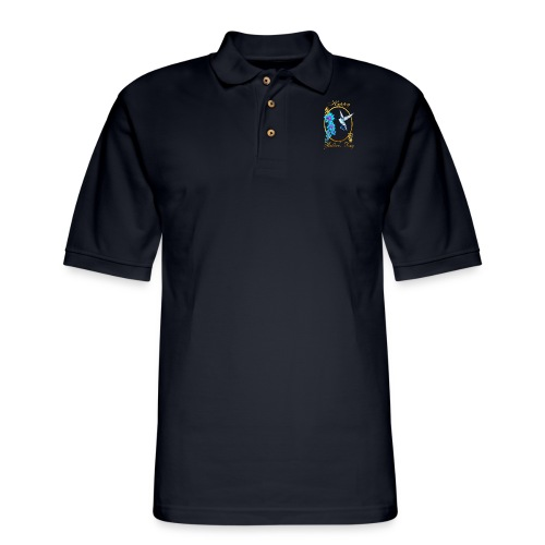 Mother's Day with humming birds - Men's Pique Polo Shirt