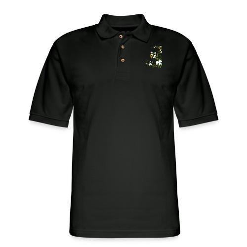 Shades Of Shamrocks - Men's Pique Polo Shirt