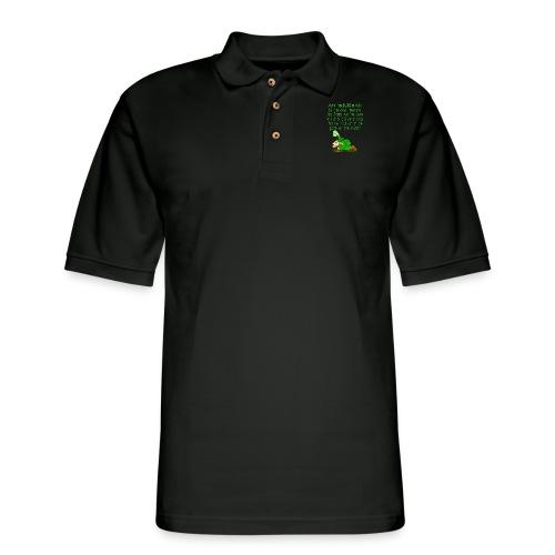 An Irishman Is Never Drunk - Men's Pique Polo Shirt