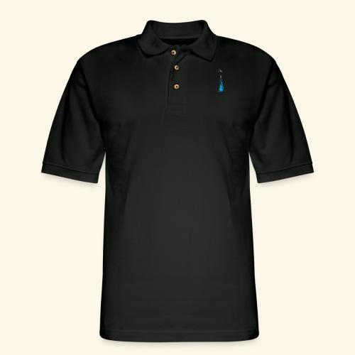 Gun Splash - Men's Pique Polo Shirt