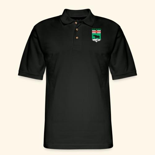 Manitoba Rhino - Men's Pique Polo Shirt
