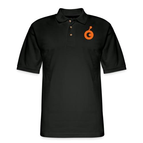 OST Logo chose print color - Men's Pique Polo Shirt
