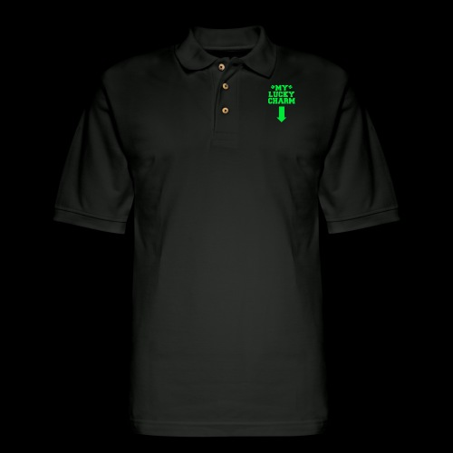 my lucky charm - Men's Pique Polo Shirt