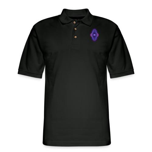 Eternal Voyage III - UV - Men's Pique Polo Shirt