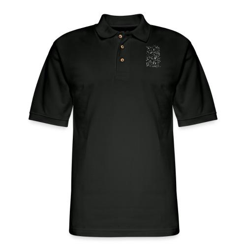 Up at Night Design - Men's Pique Polo Shirt
