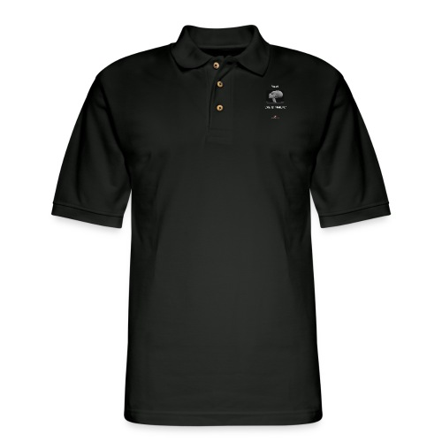 Hey, we is family! - Men's Pique Polo Shirt