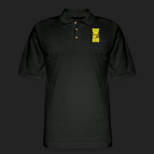 ¿Quieres Cafe? Cuelame este paquete - Men's Pique Polo Shirt