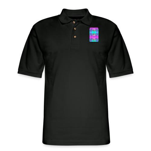 Aesthetisc Design - Men's Pique Polo Shirt