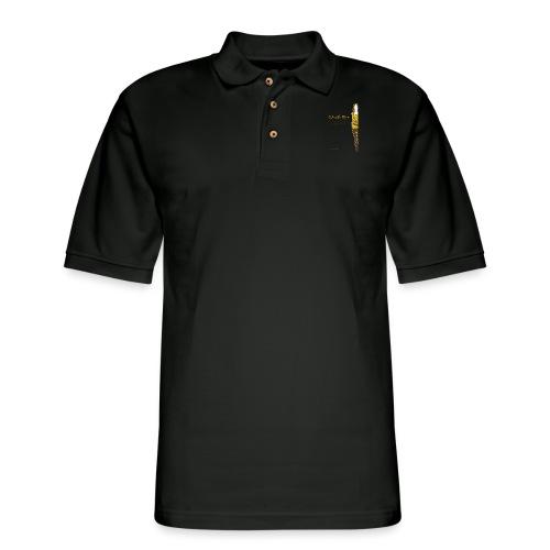 Proud Working Mom Gear - Men's Pique Polo Shirt