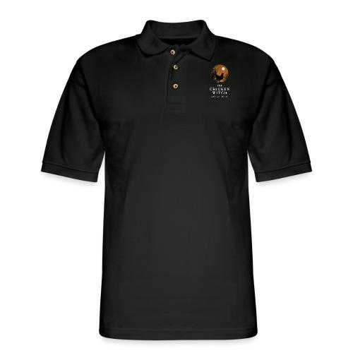 backyard folktale orange - Men's Pique Polo Shirt