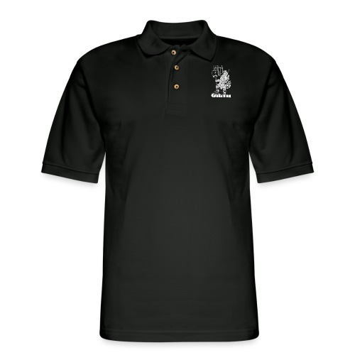 Dwarf - It's not the length White - Men's Pique Polo Shirt