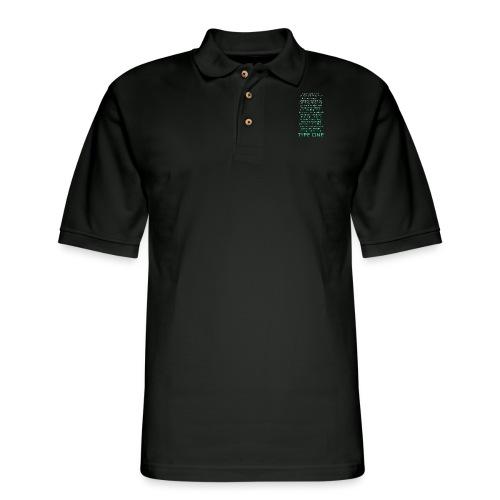 The Inspire Collection - Type One - Green - Men's Pique Polo Shirt