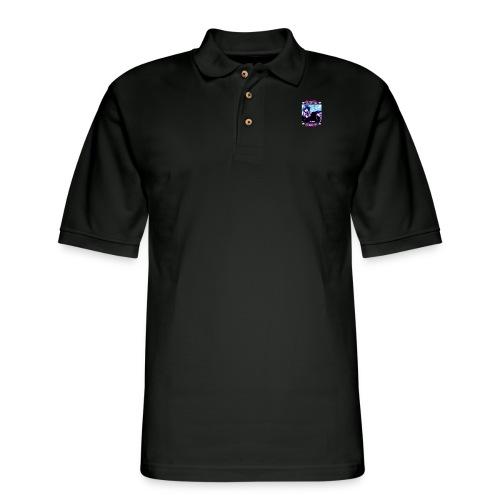 Japan Drop -Waifu logo_ - Men's Pique Polo Shirt