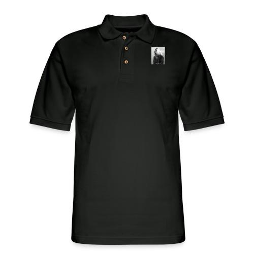 Cr0ss Smoke drop - Men's Pique Polo Shirt