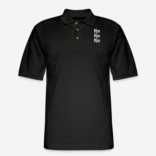 thu thu thu - Men's Pique Polo Shirt