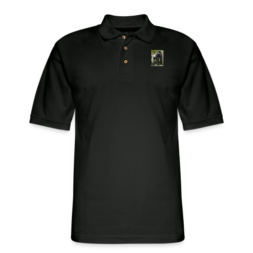 flx out louiz - Men's Pique Polo Shirt