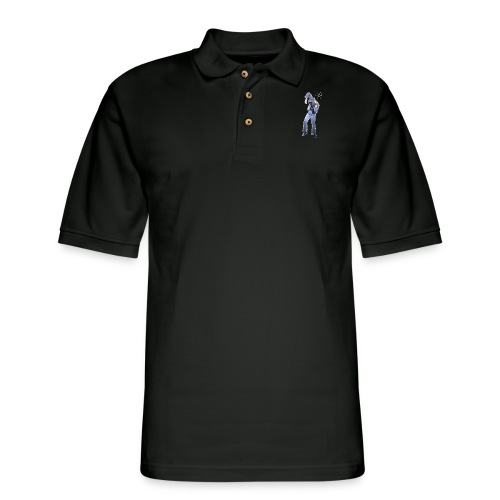 CHERNOBYL CHILD DANCE! - Men's Pique Polo Shirt