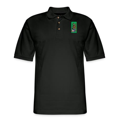 Mini Minotaur iPhone 5 - Men's Pique Polo Shirt