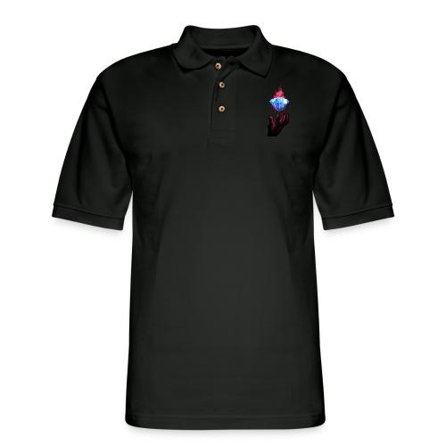 Diamond Hands - Men's Pique Polo Shirt