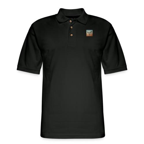 Trickshootz Official T-Shirt - Men's Pique Polo Shirt