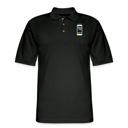 iDrone - Men's Pique Polo Shirt