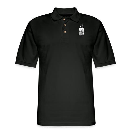 Tryna Get Some Milk - Men's Pique Polo Shirt