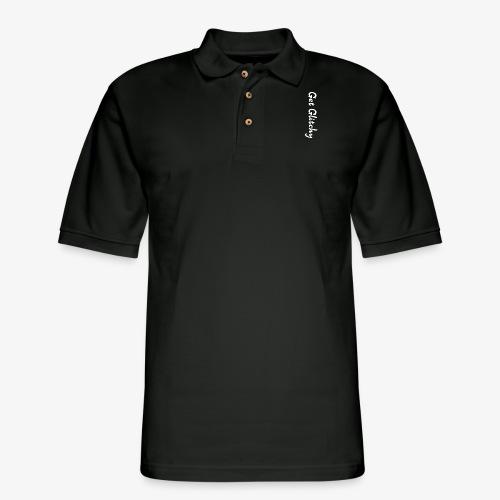 get glitchy - Men's Pique Polo Shirt