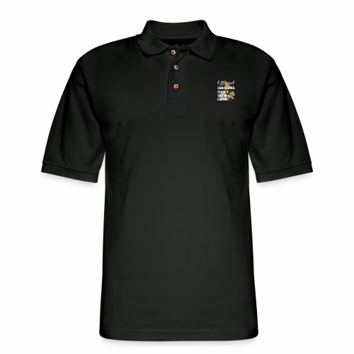 Funny Official Christmas Cookie Tasting Expert. - Men's Pique Polo Shirt