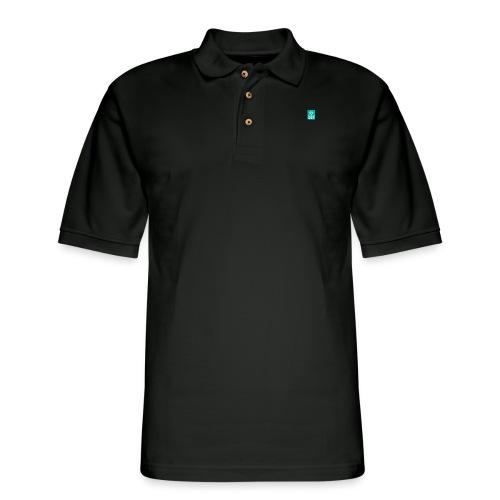 mail_logo - Men's Pique Polo Shirt