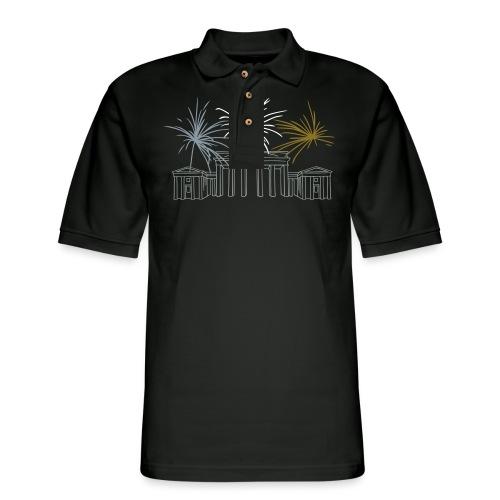 Brandenburg Gate Berlin - Men's Pique Polo Shirt