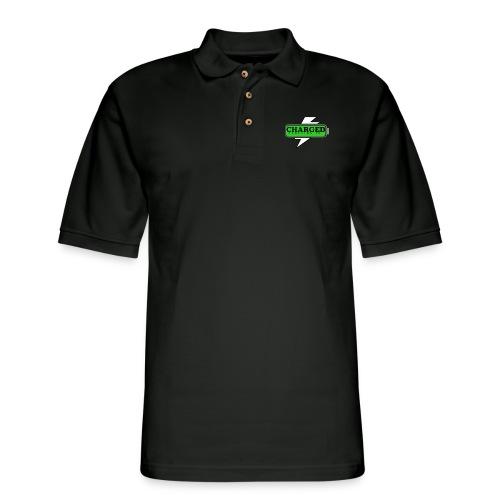 Mens Charged Polo - Men's Pique Polo Shirt