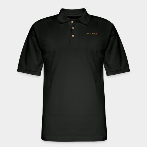 Gold Boy One - Men's Pique Polo Shirt