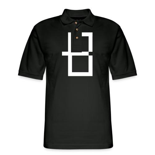Sketchy - Men's Pique Polo Shirt