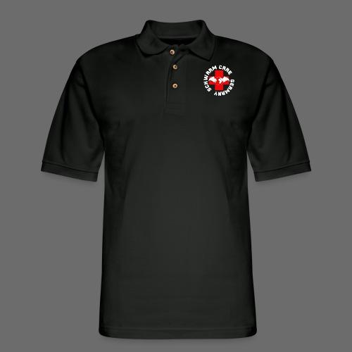 Schwarm-Care Official Merch - Men's Pique Polo Shirt