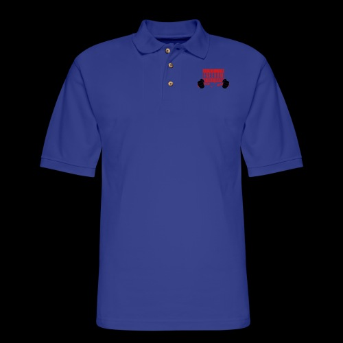 Live Free - Men's Pique Polo Shirt