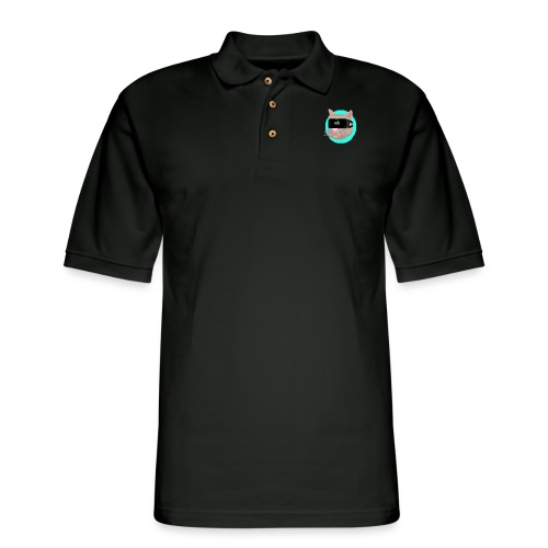 VR Cat - Men's Pique Polo Shirt