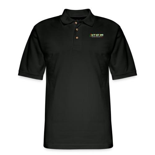 str front png - Men's Pique Polo Shirt